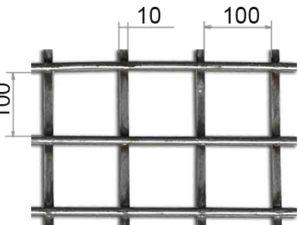 Сетка сварная 100х100х10 В500С
