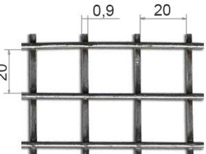 Сетка оцинкованная сварная 50х50х4