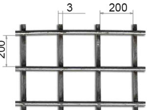 Сетка сварная 200х200х10 В500С