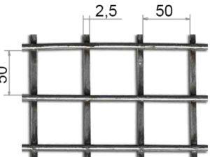Сетка сварная 50х50х5 ВР-1